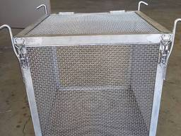 Crimped steel wire mesh and products made of it - photo 4