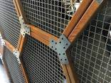 Crimped steel wire mesh and products made of it - photo 5