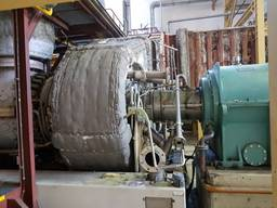 Dismantling, installation, start-up of Siemens SGT100 power plants