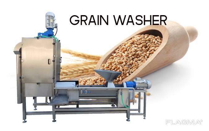 Grain washing, hulling and separating machine Ladia DR
