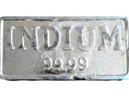 Indium bullion | značka kovového india InOO GOST 10297-94