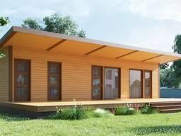 Каркасный дом 42м2 без террасы за 14000 или 25 000€