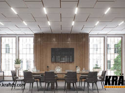 Lighting system for Kraft Led suspended ceilings from the ma - фото 4