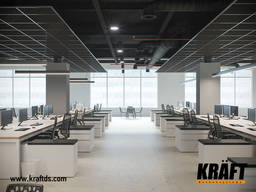 Lighting system for Kraft Led suspended ceilings from the ma - фото 8