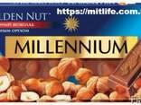 Молочный Шоколад Millennium с орехом Nut LLC Mitlife - фото 2