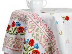 Продается ткань (рогожка, 100% хлопок) для скатертей