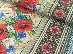 Продается ткань (рогожка, 100% хлопок) для скатертей - фото 3