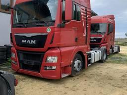 Продам 2 тягача Ман TGX 18 440 15/16/17 Год Пробег 580/560/460 тыс км В отличном состоянии