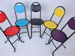 Складной Стул металлический каркас/ Folding Chair