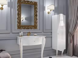 Stůl s umyvadlem do koupelny, cena za set