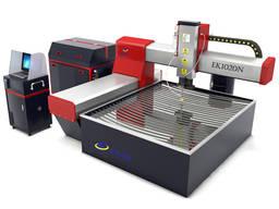 Vodní paprsek CNC řezací stroj pro řezání kovového skla