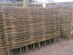 Забор с орешника - фото 1