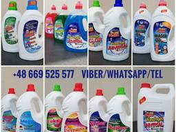 Gel Laundry Detergent Pure Fresh, own production, wholesales